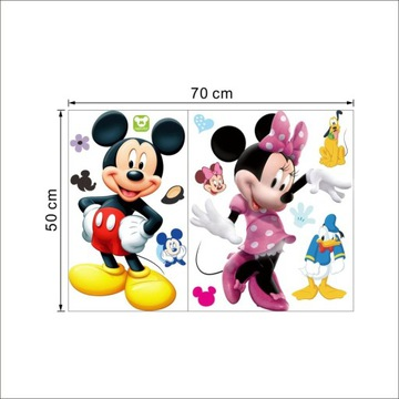 Naklejki ścienne MYSZKA MICKIE MINNIE Disney
