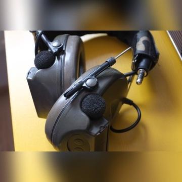 Zestaw słuchawkowy zCOMTAC II Headset ASG aktywne