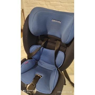 Fotelik samochodowy niebieski