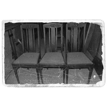 MAGAZYN trzy krzesła tel. 883322162