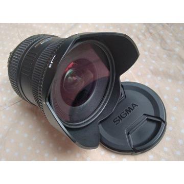 Obiektyw Sigma 10-20 mmD 1:4-5.6 EX DC dla Nikon +