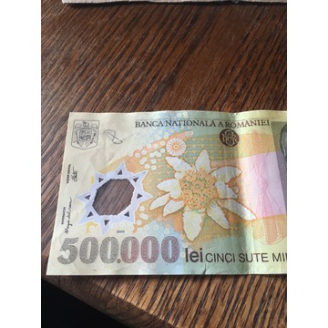 Rumunia 500 000 lei