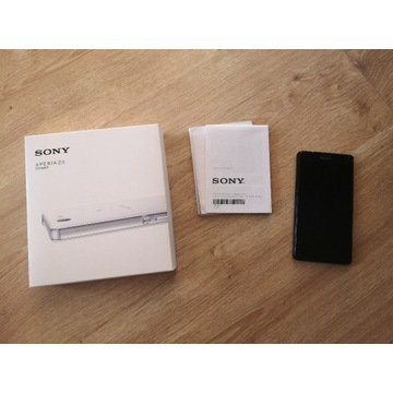 telefon SONY xperia Z3 compact czarny + box papier