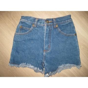 Smasher spodenki jeansowe 134-140 cm 9-10 lat