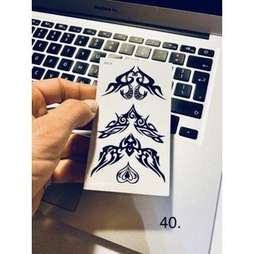 Tatuaż wodoodporny tymczasowy nr. 40