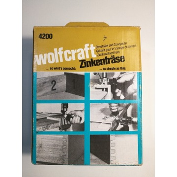 Frezarka do szuflad Wolfcraft 4200