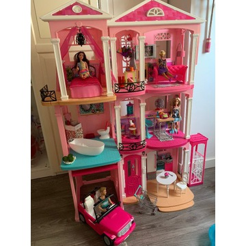 Dom domek dreamhouse auto Barbie