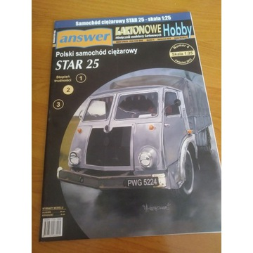 Model kartonowy Answer Star 25