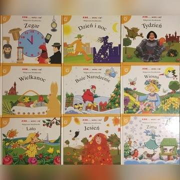 ABC-Uczę się Książki edukacyjne Czas i kalendarz