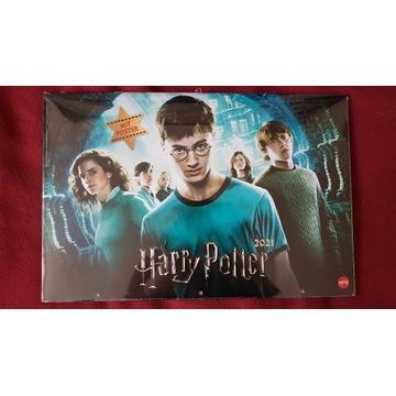 Kalendarz ścienny 2021 - Harry Potter