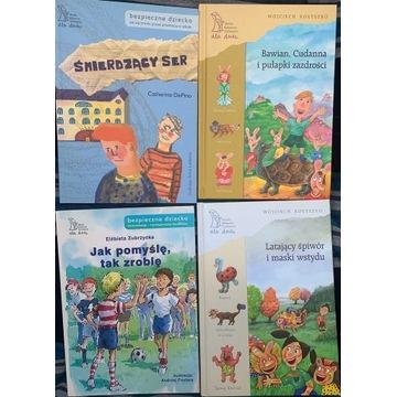 Książki terapeutyczne dla dzieci - zestaw 2