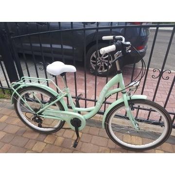rower damski- młodzieżowy, indiana city line