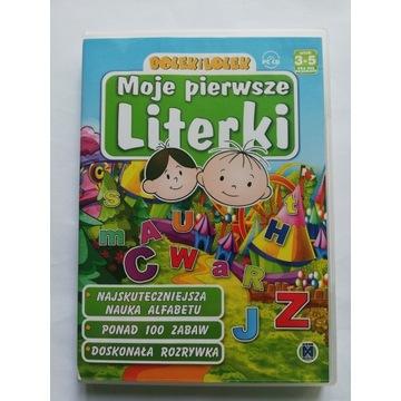 CD Nauka literek . Program do nauki literek
