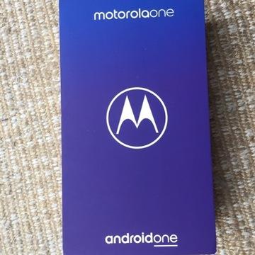 Motorola one xt1941-4 4/64GB czarny