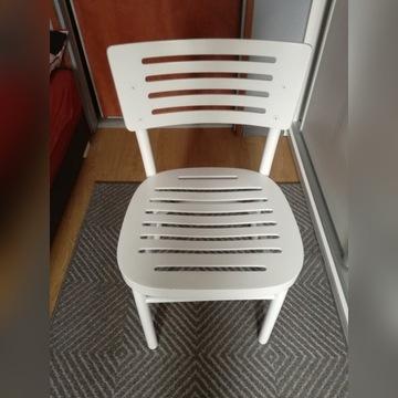 Krzesło kuchenne Ikea białe