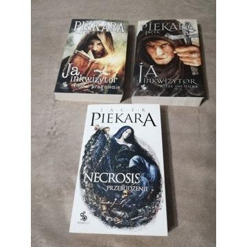"""Jacek Piekara """"Ja, Inkwizytor"""" """"Necrosis"""""""