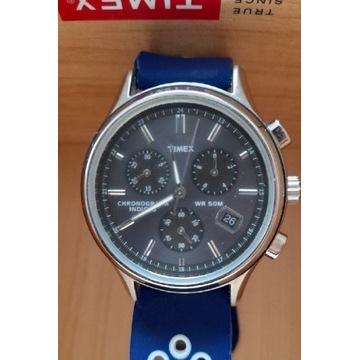 Zegarek Timex z chronografem i dwoma paskami