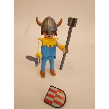 Playmobil rycerz, wiking