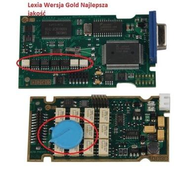 Lexia GOLD Diagbox 9.68 - głowica