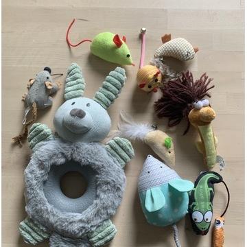 Zabawki dla kota i psa 9 sztuk