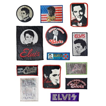 Elvis Presley, 13 Naszywek, Król, Rock'n Roll