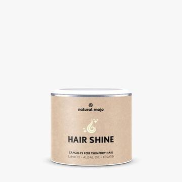 Kapsułki Hair Shine natural Mojo włosy skóra pazno