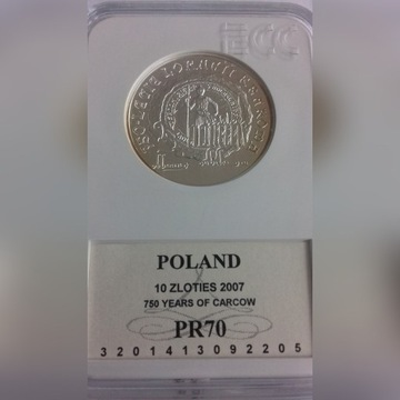 10 zł Lokacja Krakowa