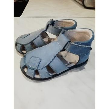 Buciki sandały Emel r. 21 skórzane