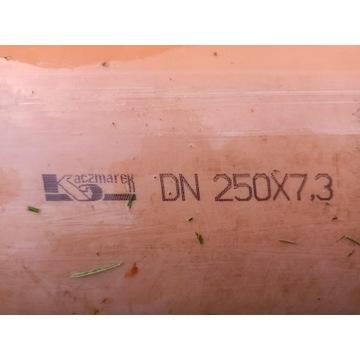 Rura kanalizacyjna zewnętrzna PVC 250x7.3x6000 6m