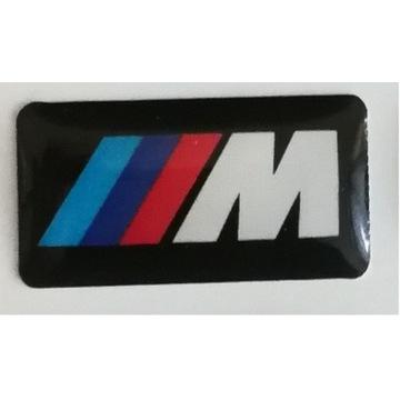 BMW M Power Pakiet Logo Znaczek Felgi naklejka