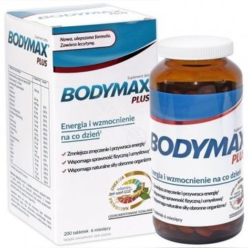 Body max+ energia, siła, odporność ,Bogaty skład
