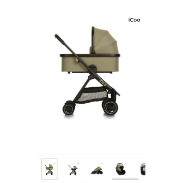 Komplet wózek Icoo Acrobat xl plus trio set