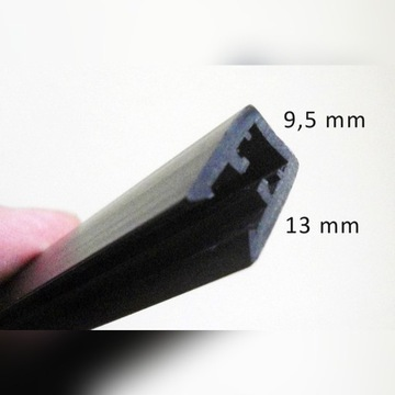 Ramki do pianki 5 mm, nowe, ok. 40 szt x 3m.