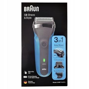 Golarka BRAUN 310BT Series 3 Shave & Style 3w1