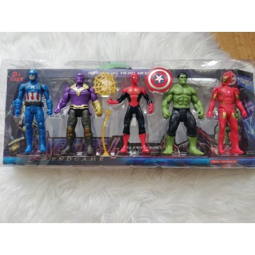 Zestaw figurki Avengers 5 sztuk