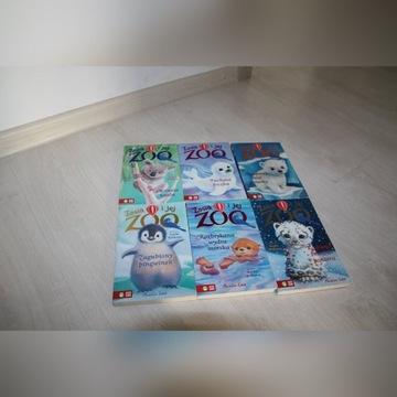 Zosia i jej Zoo 6 książek