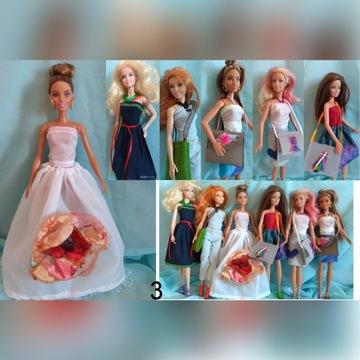 Ubranka dla Barbie zestaw ubrań
