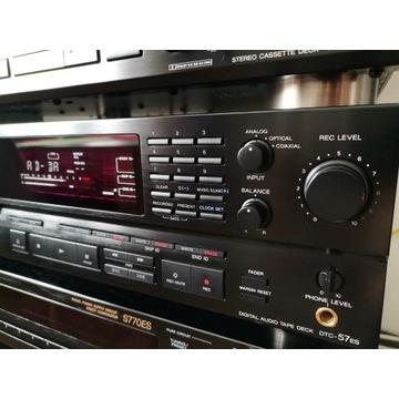 Magnetofon DAT Sony DTC-57ES oryginał+pilot RMT-D3