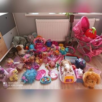 Mega paka zabawek dla księżniczki.