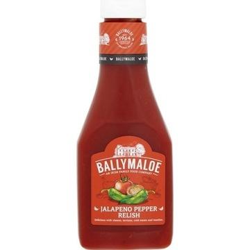 Ballymaloe Jalapeno Pepper Relish sos grill 325g