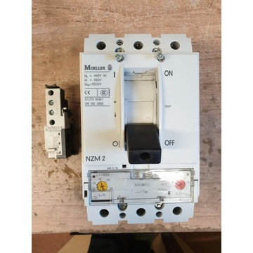 Wyłączniki Moeller NZM2 160A + wzwalacz NZM2/3-XU