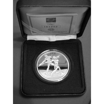 Grecja olimpiada 2004 10 Euro Srebro 34g