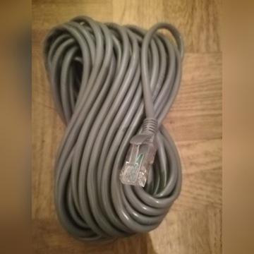 Kabel internetowy 10 metrów z końcówkami