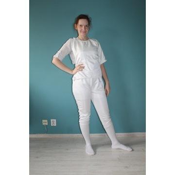 Strój szermierka M/L bluza spodnie plastron