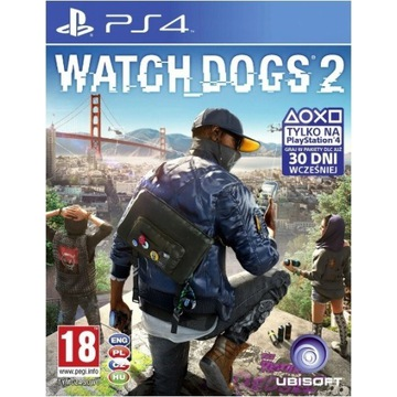 WATCH DOGS 2 PS4 PL PLAYSTATION 4