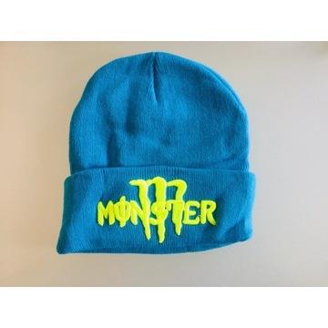 Czapka zimowa ciepła Monster nowa