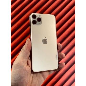 Telefon iPhone 11 Pro Max 256 GB złoty A+