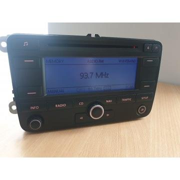 Radio VW Nawigacja CD MP3 Touran Passat Caddy+kod