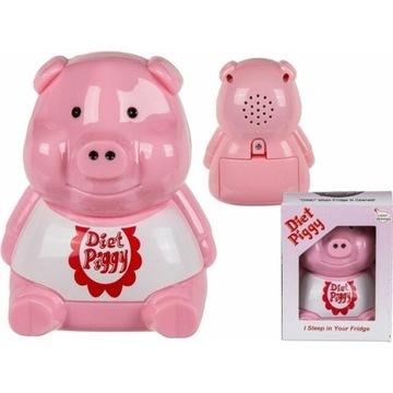 Dietetyczna świnka do lodówki