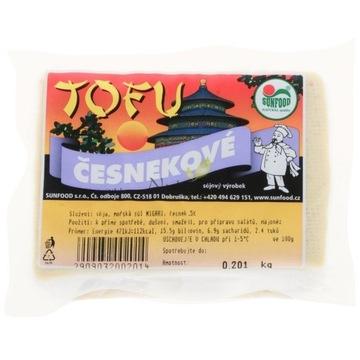 Tofu CZOSNKOWE 200g - SunFood (00120)L